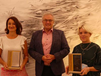 v.l. :Fritzi Haußmann,  Theo Wieder, Theresa Lawrenz, Foto: Bezirksverband Pfalz